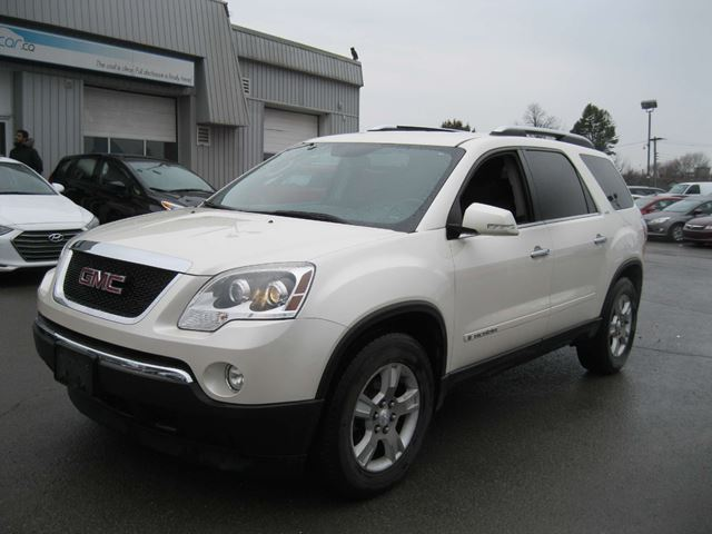 2008 gmc acadia slt kingston ontario used car for sale 2724387. Black Bedroom Furniture Sets. Home Design Ideas
