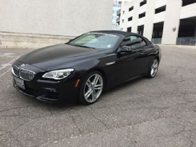2016 bmw 6 series 2dr 650i xdrive convertible mississauga ontario used car for sale 2725163. Black Bedroom Furniture Sets. Home Design Ideas