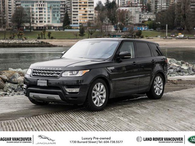 2016 land rover range rover sport diesel td6 hse in vancouver british. Black Bedroom Furniture Sets. Home Design Ideas