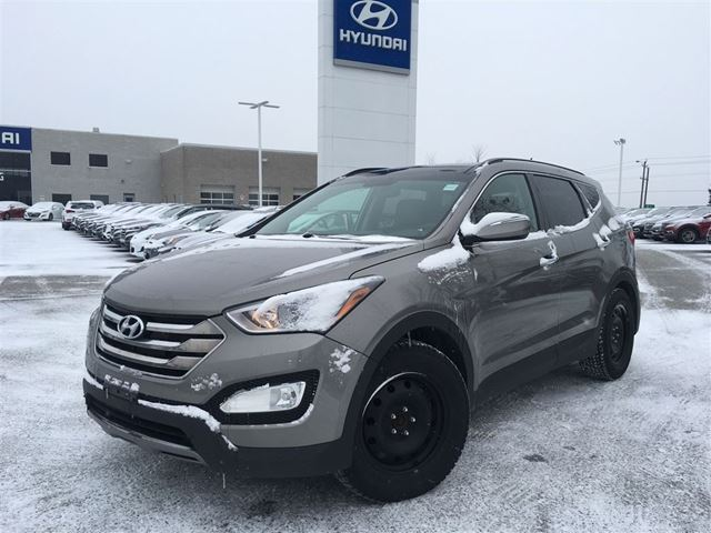 used 2014 hyundai santa fe 2 0t limited bowmanville. Black Bedroom Furniture Sets. Home Design Ideas