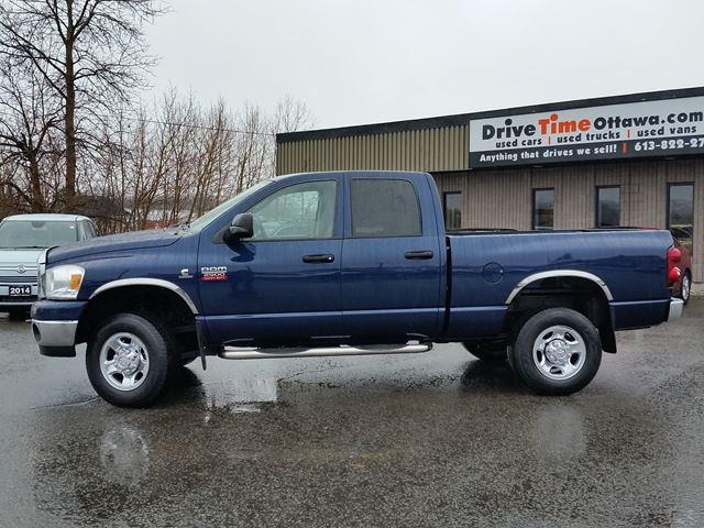 2007 dodge ram 2500 slt quad cab 4x4 cummins diesel ottawa ontario used car for sale. Black Bedroom Furniture Sets. Home Design Ideas