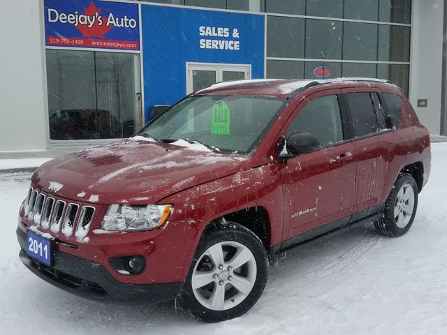 2011 JEEP COMPASS North Edition 4x4 in Brantford, Ontario
