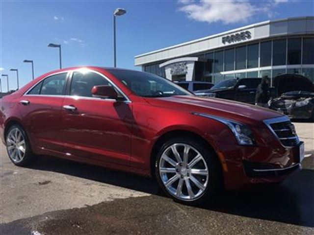 2016 cadillac ats 2 0l turbo luxury navigation waterloo ontario used car for sale 2725833. Black Bedroom Furniture Sets. Home Design Ideas