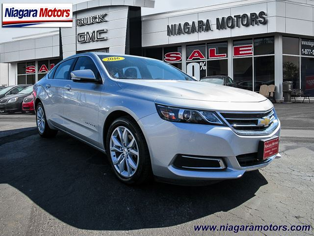 2016 chevrolet impala lt virgil ontario car for sale 2725836. Black Bedroom Furniture Sets. Home Design Ideas