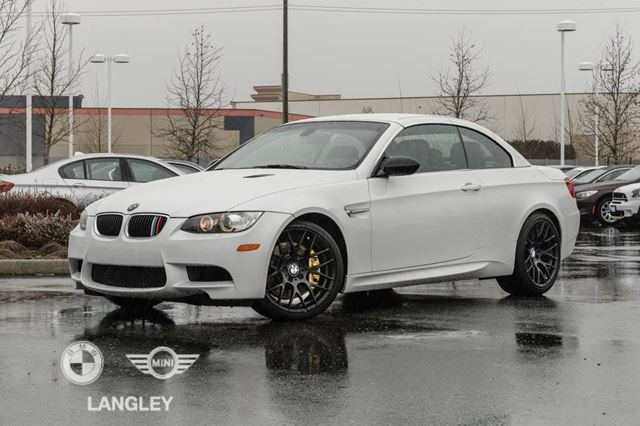 2012 BMW M3 Cabriolet!! in Langley, British Columbia