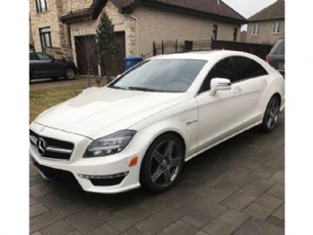 2012 Mercedes-Benz CLS-Class C63 AMG Navi Every Option MB Certified Warranty in Mississauga, Ontario