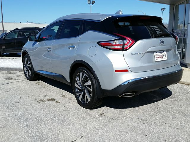 2016 nissan murano platinum awd demo collingwood ontario used car for sale 2725875. Black Bedroom Furniture Sets. Home Design Ideas