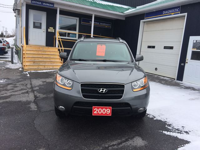 2009 hyundai santa fe gls alexandria ontario used car. Black Bedroom Furniture Sets. Home Design Ideas