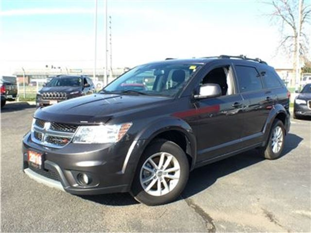 2016 dodge journey sxt 3 6l v6 bluetooth 4 3 inch touchscreen grey ontario chrysler jeep. Black Bedroom Furniture Sets. Home Design Ideas