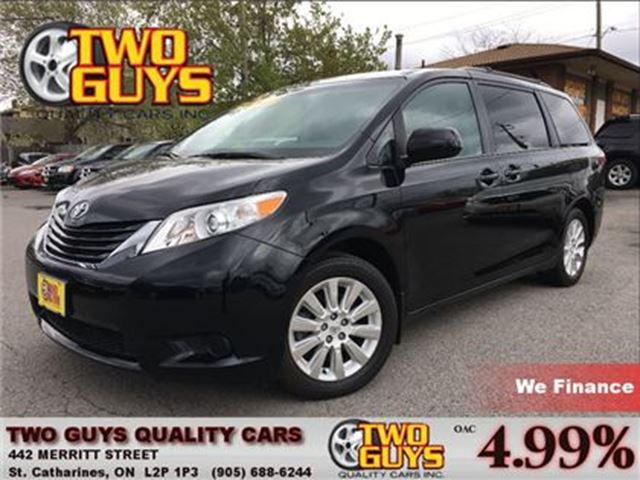 2015 Toyota Sienna LE 7 Passenger AWD NICE LOCAL TRADE IN in St Catharines, Ontario