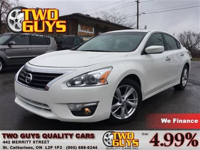 2013 NISSAN ALTIMA 2.5 SV MOON ROOF MAGS SPOILER BACK UP CAMERA in St Catharines, Ontario