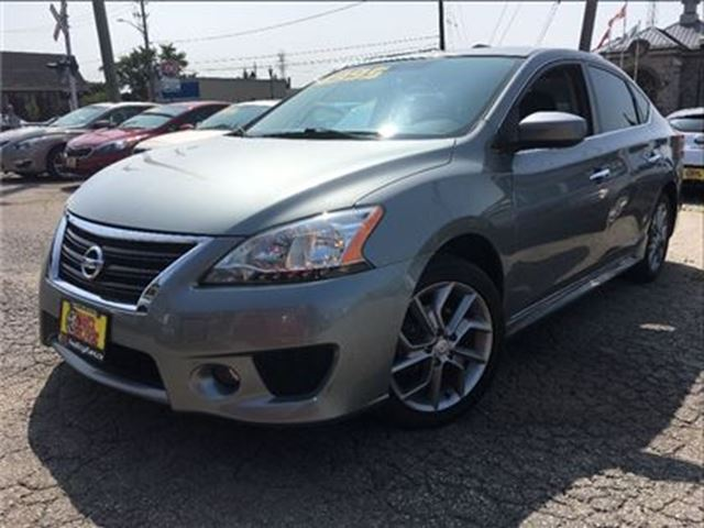 2013 NISSAN SENTRA 1.8 SR NAVIGATION MOON ROOF BIG MAGS SPOILER in St Catharines, Ontario