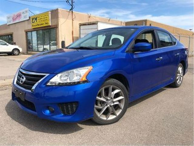 2014 NISSAN SENTRA 1.8 SR NAVIGATION MOON ROOF BIG MAGS SPOILER in St Catharines, Ontario