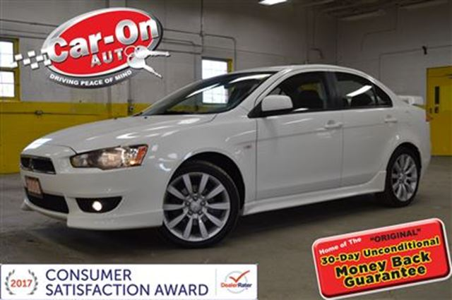 2008 Mitsubishi Lancer GTS SUNROOF 5 SPEED in Ottawa, Ontario