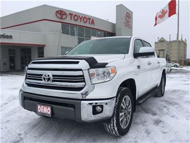 2017 toyota tundra sold 1794 edtn exec demo boards nav bowmanville ontario used car for sale. Black Bedroom Furniture Sets. Home Design Ideas