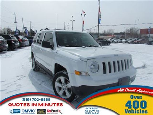 2014 JEEP PATRIOT LIMITED   NAV   LEATHER   4X4 in London, Ontario