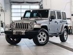 2014 Jeep Wrangler Unlimited Sahara 4WD w/Navigation in Kelowna, British Columbia