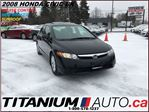 2008 Honda Civic EX+Sunroof+Keyless+New Brakes+AUX Input+Alloys+ECO in London, Ontario