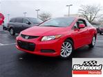 2012 Honda Civic EX! Honda Certified Extended Warranty to 160, 000 in Richmond, British Columbia