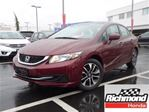 2015 Honda Civic EX! Honda Certified Extended Warranty to 160, 000 in Richmond, British Columbia