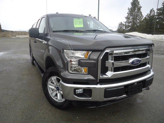 2016 FORD F-150 XLT 4x4 SuperCab Styleside 6.5 ft. box 145 in. WB in Cranbrook, British Columbia