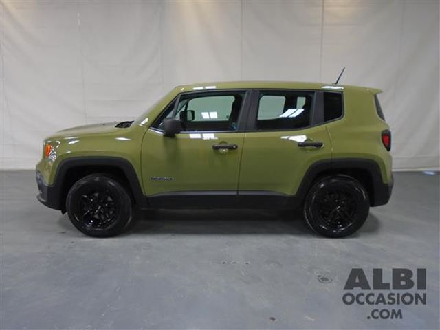 2015 jeep renegade sport 4x4 mascouche quebec used car for sale 2726911. Black Bedroom Furniture Sets. Home Design Ideas