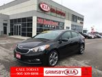 2016 Kia Forte EX WITH Sunroof + Rear Camera! in Grimsby, Ontario