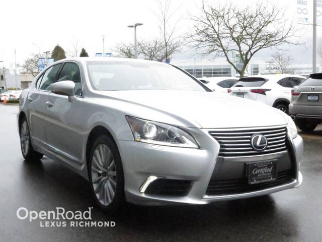2013 lexus ls 460 technology package certified richmond british columbia used car for sale. Black Bedroom Furniture Sets. Home Design Ideas