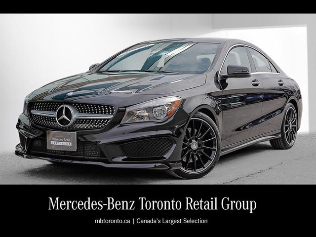 2016 mercedes benz cla250 4matic coupe toronto ontario used car for sale 2726596. Black Bedroom Furniture Sets. Home Design Ideas
