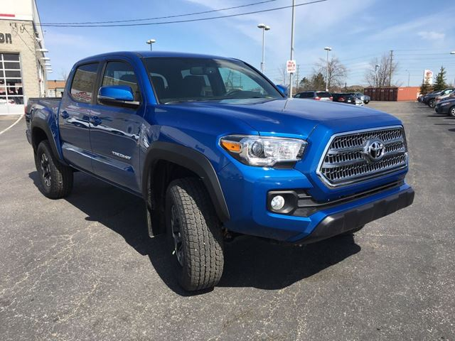 2017 toyota tacoma brampton ontario used car for sale. Black Bedroom Furniture Sets. Home Design Ideas
