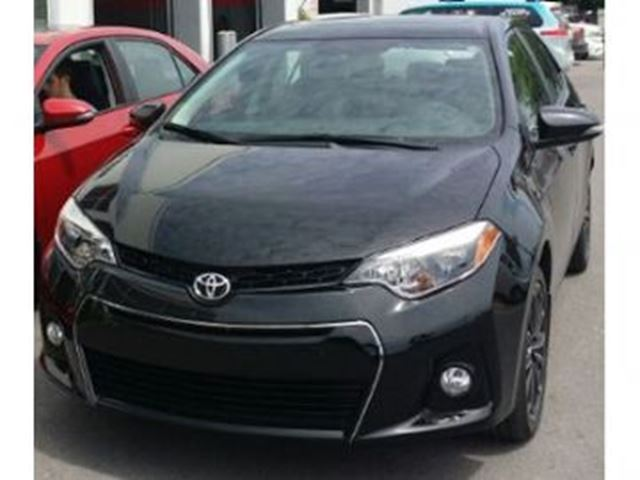 2014 toyota corolla s black lease busters. Black Bedroom Furniture Sets. Home Design Ideas