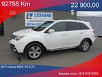 2011 Acura MDX           in Shawinigan, Quebec