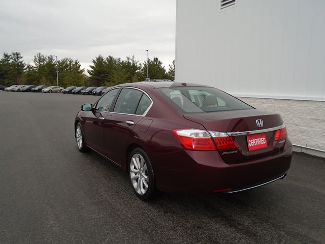 2014 honda accord touring north bay ontario used car for sale 2726538. Black Bedroom Furniture Sets. Home Design Ideas