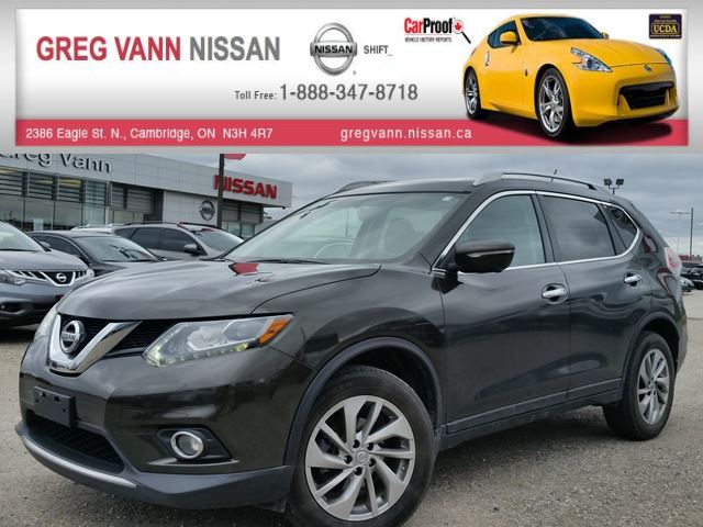2015 nissan rogue sl awd w nav all leather pwr group rear cam climate control dark green greg. Black Bedroom Furniture Sets. Home Design Ideas