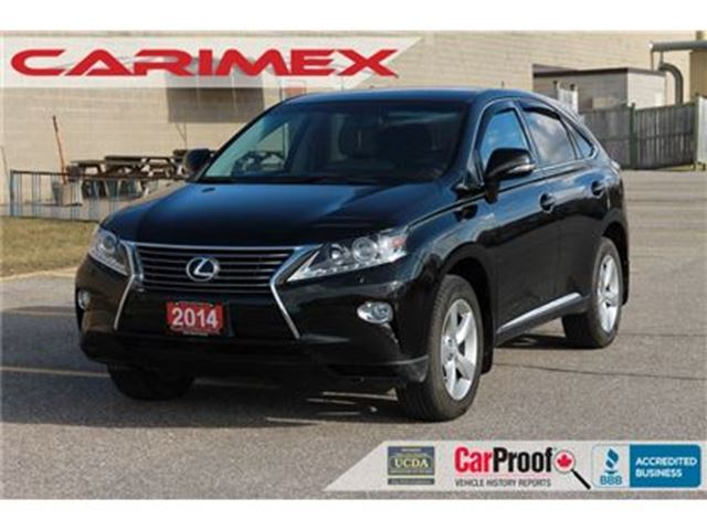 2014 LEXUS RX 350 ONLY 58K   Accident-FREE   Back-Up Camera in Kitchener, Ontario