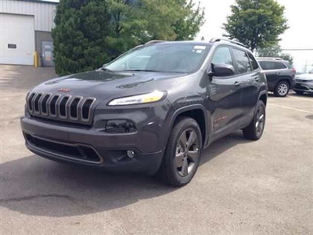 2016 jeep cherokee 75th anniversary edition milton ontario used car for sale 2727927. Black Bedroom Furniture Sets. Home Design Ideas