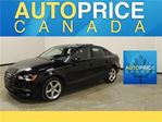 2016 Audi A3 2.0T PANOROOF AWD LEATHER in Mississauga, Ontario