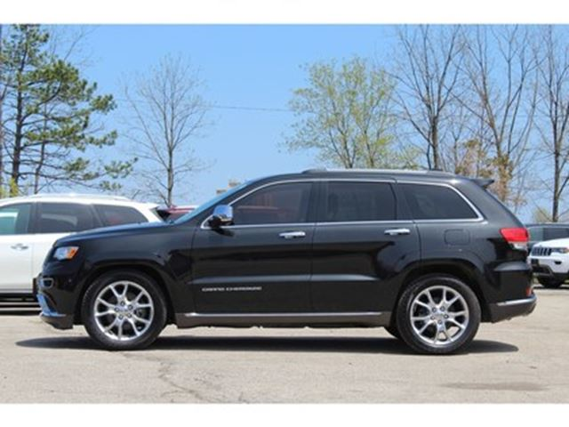 used 2015 jeep grand cherokee 6 cy summit forward collision air lift susp mississauga. Black Bedroom Furniture Sets. Home Design Ideas