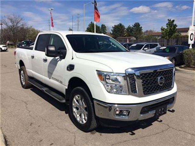 2016 nissan titan xd sv prem cummins diesel milton ontario car for sale 2727596. Black Bedroom Furniture Sets. Home Design Ideas