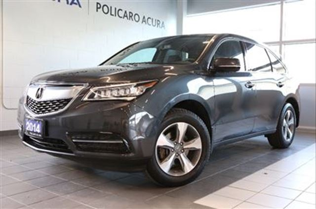 2014 ACURA MDX at Entry Level Package, One Owner, Factory Warrant in Brampton, Ontario