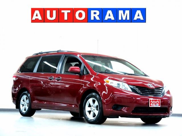 2012 Toyota Sienna LE AWD BACKUP CAMERA  V6 7 PASSENGER in North York, Ontario