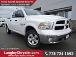 2016 Dodge RAM 1500 SLT W/ 4X4, TOW PACKAGE & REAR-VIEW CAMERA in Surrey, British Columbia