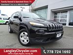 2016 Jeep Cherokee Sport ACCIDENT FREE w/ 4X4 & MULTIPLE TERRAIN OPTIONS in Surrey, British Columbia