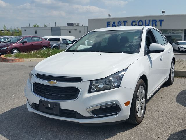 2016 chevrolet cruze lt scarborough ontario used car for sale 2727482. Black Bedroom Furniture Sets. Home Design Ideas
