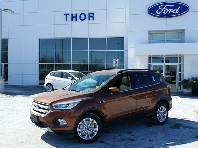 2017 ford escape se brown thor motors new car. Black Bedroom Furniture Sets. Home Design Ideas