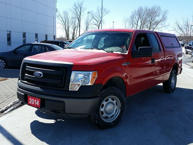 2014 ford f 150 xl orillia ontario used car for sale 2727953. Black Bedroom Furniture Sets. Home Design Ideas