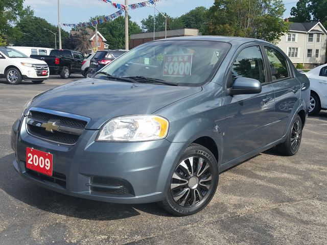 used 2009 chevrolet aveo ls dunnville. Black Bedroom Furniture Sets. Home Design Ideas