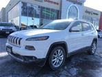 2016 Jeep Cherokee Limited * Leather * Panoramic sunroof * Navigation in Woodbridge, Ontario