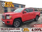 2015 GMC Canyon SLE 4x4 LEATHER NAVIGATION BACK UP CAMERA CREW CAB in St Catharines, Ontario