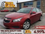 2012 Chevrolet Cruze LT Turbo 4 NEW TIRES LOW KMS!! KEYLESS ENTRY in St Catharines, Ontario
